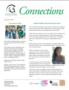 ECS Connections Newsletter Jan. 2016 - Cover