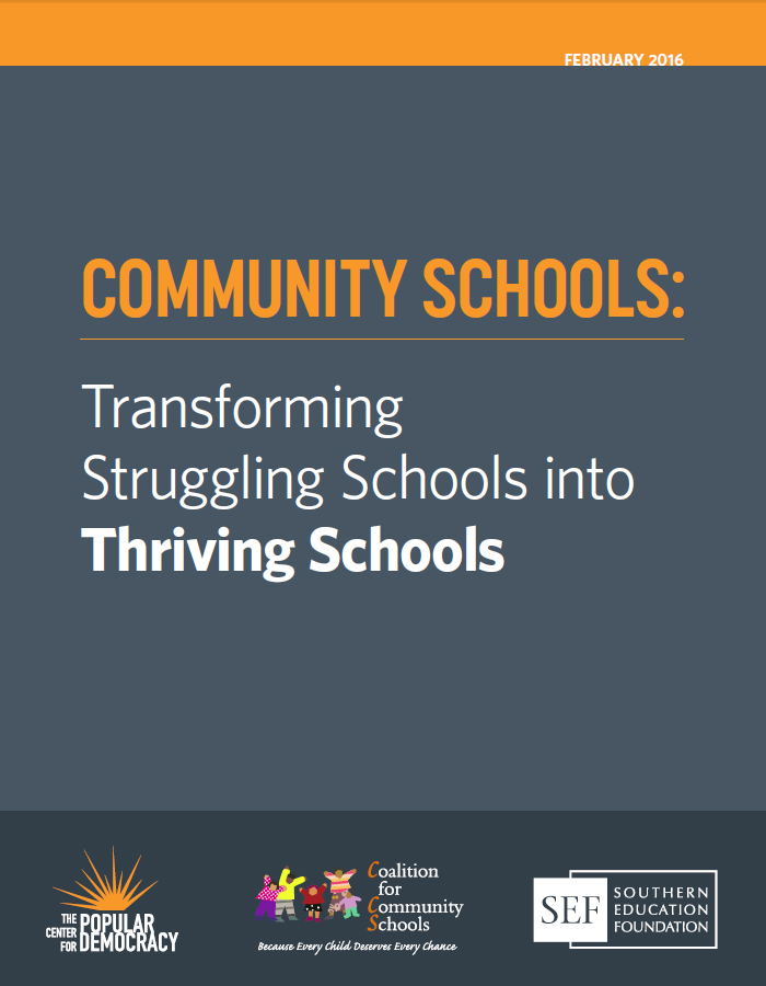 Nationwide Community School Report Cover - Feb 2016